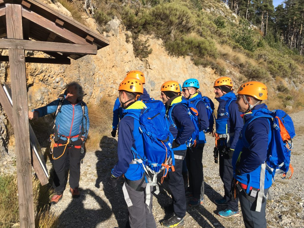 Journée de coaching outdoor, novembre 2019