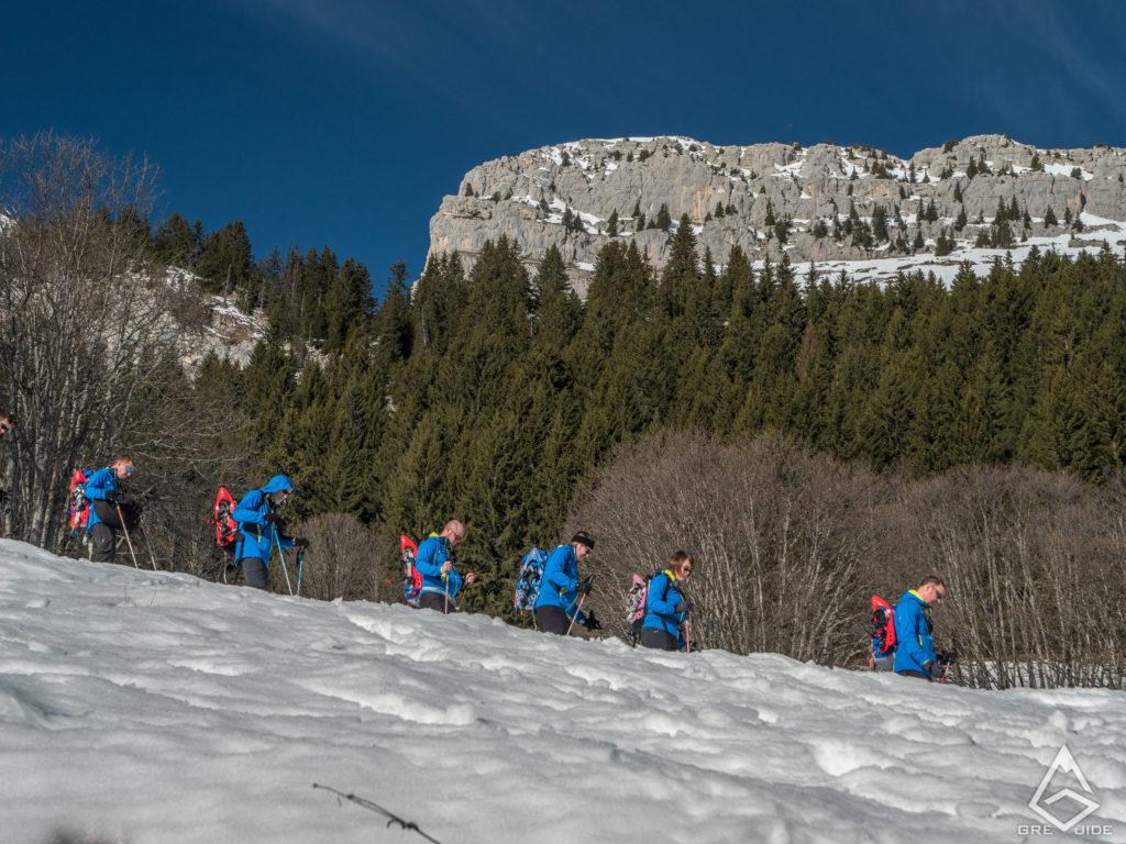 Séminaire de coaching en montagne, janvier 2020